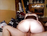 Mature With A Big Booty Rides A Dick