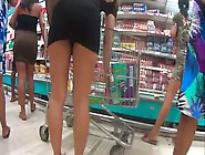Nice Ass On Supermarket Voyeur By Tb