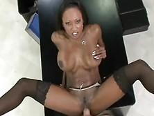 Hot Black Milf Pornstar Fucked In Pov