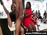 Blowjobs For Strippers From Group Of Amateurs At Cfnm Party