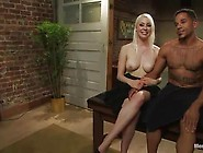 Blonde Lorelei Lee Strapon Making Love And Torturing The Guy's T