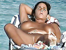 Awesome Amateur Voyeur Scenes From The Nudist Beaches