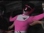 Japanese Pink Heroine Tickling