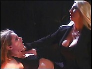 2 Smoking Hot Big Tit Hotties Enjoying A Spanking Session