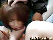 Unknown - Cute Asian Babe Attacked On A Bus Ride Home And Served