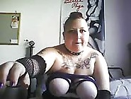 Fat Punk Girl Masturbating Like Crazy