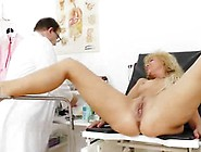 Mother Has A Erotic Gyno Checkup