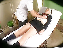 Spycam Reluctant Schoolgirl Climax Massage