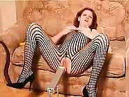 Redhead Slut Masturbates That Are Hot In High Heel Shoes An
