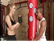 Tanya Tate Big Tits Blonde Blowjob Cumshot Gym Oral