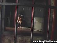Polícial Puta Louca Por Sexo Fode Com Preso Duramente