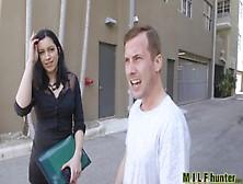 Milf Hunter - Dude Picks Up Hot Mom