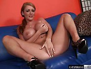 Round Titted Sophie Dee Gets A Long Hard Shaft