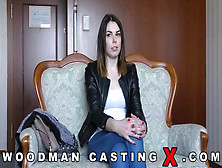 Jessica Bell Triple Teamed At Her Casting