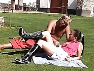 Creampie And Squirting Outdoors