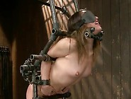 Kristina Rose Has Chained And Toyed About The Toy