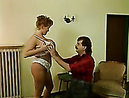 Chunky Retro Slut Sucks A Cock Greedily And Enjoys It From Behin