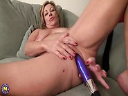 Horny Mom Has Hot Fun With Her Dildo
