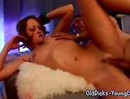 Hot Girl Fucks Old Dirty Guy
