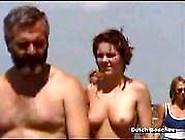Zandvoort Dutch Beach Topless Nudist Titties 12