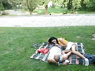 Horny Couple Have Sex In Public Park. Mp4