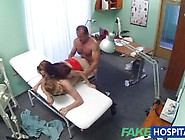 Horny Nurse Joins Patient And Doctor In Threesome