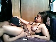 Ebony Lover Eating On The Damp Berry Of His Puffy Woman