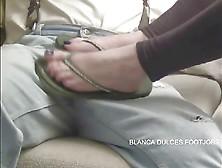 Flip Flop Footjob