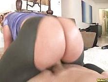 Blonde Bbw Julie Cash Rides Her Man's Cock Fast