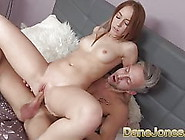 Dane Jones Petite Teen Takes Big Bendy Cock Deep Inside