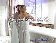 Massage Rooms Petite Blonde Teen Has Hard Orgasm