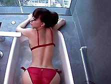 Skinny Asian Bimbo In A Bathtub Taking A Hard Cock In Her Wet Cu