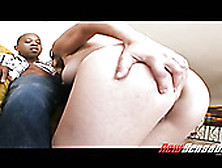 Pale Chick Anjelica Blew Blows Juicy Black Cock And Gets Her Cun