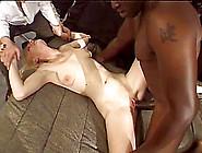 Ivory Blaze Takes Big Black Cock Deep Inside Her Asshole And Twa