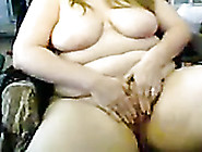 Light Haired Extremely Fat Webcam Bitch Was Playing With Her Big