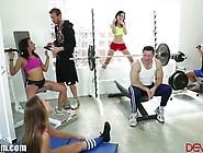 Devilsfilm Gym Time Hardcore Orgy
