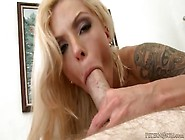 Fake Tits Are Very Nice On The Cocksucking Milf Slut