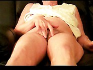 My Wife Shows Her Wet Hairy Pussy And Sensitive Clit