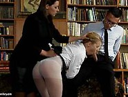 Being A Bad Girl In School Gets Cindy Hope Sent To The Head Mast