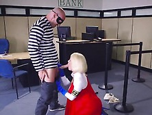 Chesty Babe Peta Jensen Enjoys Big Cock Of Robber