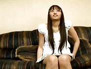 Riku Shiina Gets Her Hairy Asian Pussy Filled With Jizz
