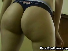 Sexy Ass Latina In Thong Twerking Video