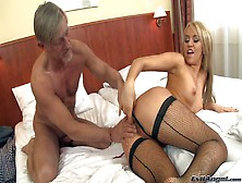 Arousing Playful And Slutty Blonde Aleska