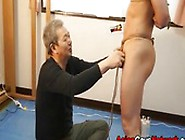 Older Asian Men Are Just Crazy.  He Ties Up This Young Asian Twin