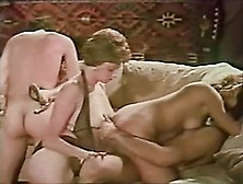 Retro Orgy In The Old Days - A Camera Caught It And We Remastere