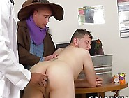 Hot Hunks Have Interracial Hallowen Gay Sex Party In Office
