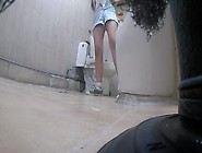 Korean Girl Using Toilet Part 5