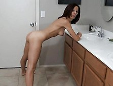 Stacey Skinny Mature Standing Fuck And Creampie