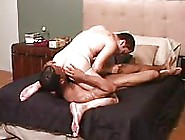 Muscled Black Teen Licking His White Lover's Asshole