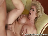 Old Amateur Granny Gets Pussy Nailed